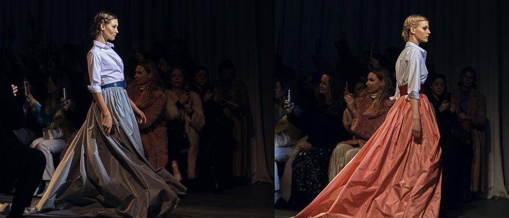 Carolina Herrera se despide con la colección de otoño 2018 más emblemática en la Nueva York Fashion Week