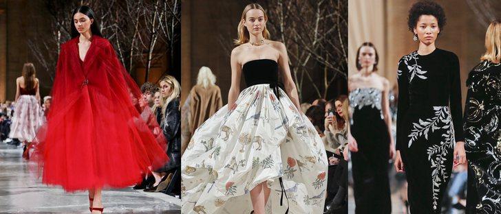 La colección mágica de Oscar de la Renta otoño/invierno 2018 en la Nueva York Fashion Week