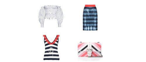 PINKO propone prendas y complementos a rayas para completar tus mejores looks