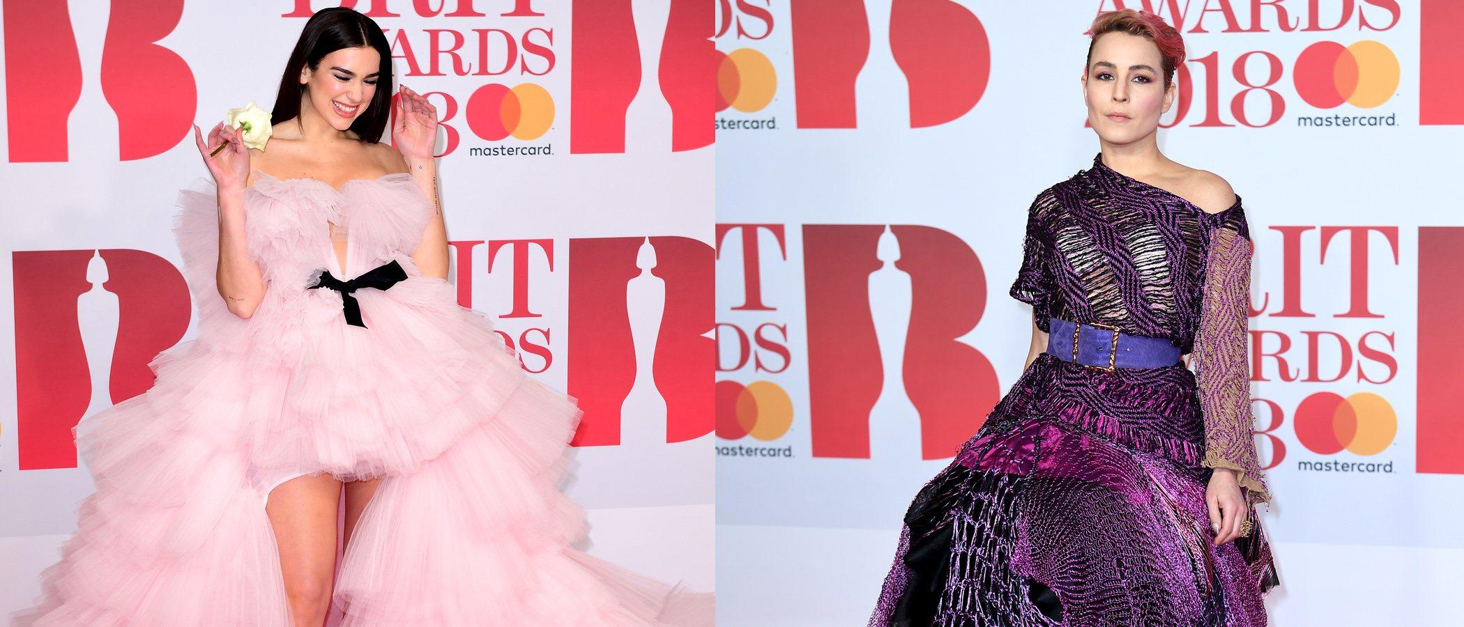 De Rita Ora a Alice Dellal: las mejor y peor vestidas de los Brit Awards 2018