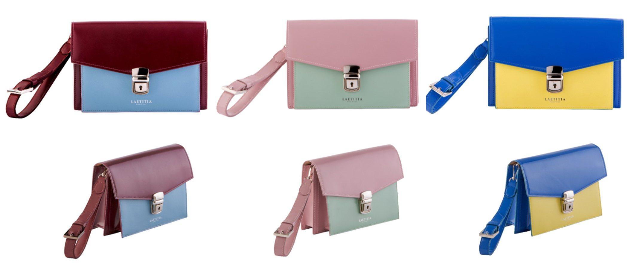 Laetitia presenta el bolso de mano 'Vivien' en varios diseños