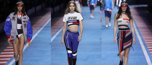 Tommy Hilfiger presenta su última entrega de TommyXGigi para primavera/verano 2018 en la Milan Fashion Week