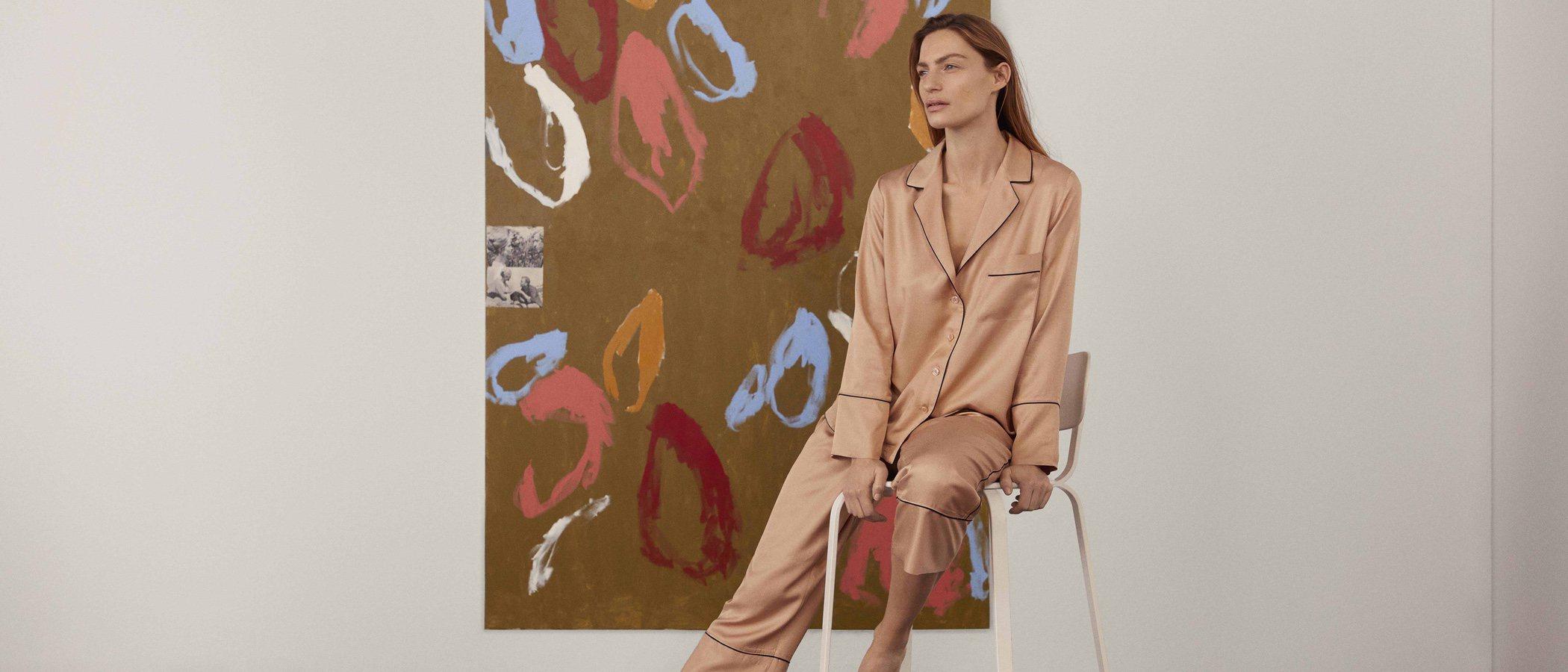 Oysho colabora con el artista Albert Riera para crear su nueva colección Sleepwear primavera/verano 2018