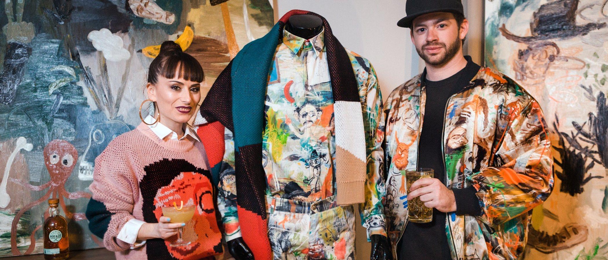 María Escoté y Fer Francés presentan Frescoté: su novedosa marca que fusiona la moda con el arte