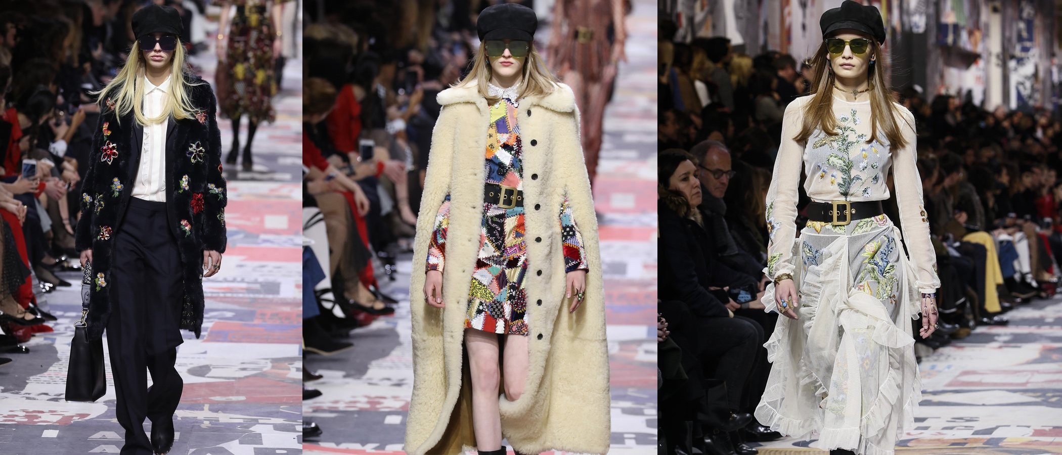 Dior presenta su prêt-à-porter para el otoño/invierno 2018/2019 en la Paris Fashion Week