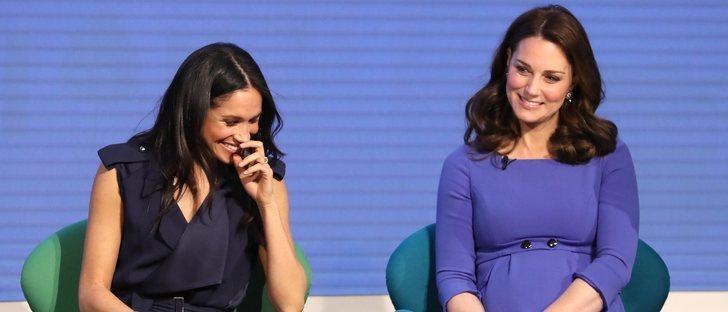 Meghan Markle y Kate Middleton: dos looks muy diferentes en su primer acto juntas