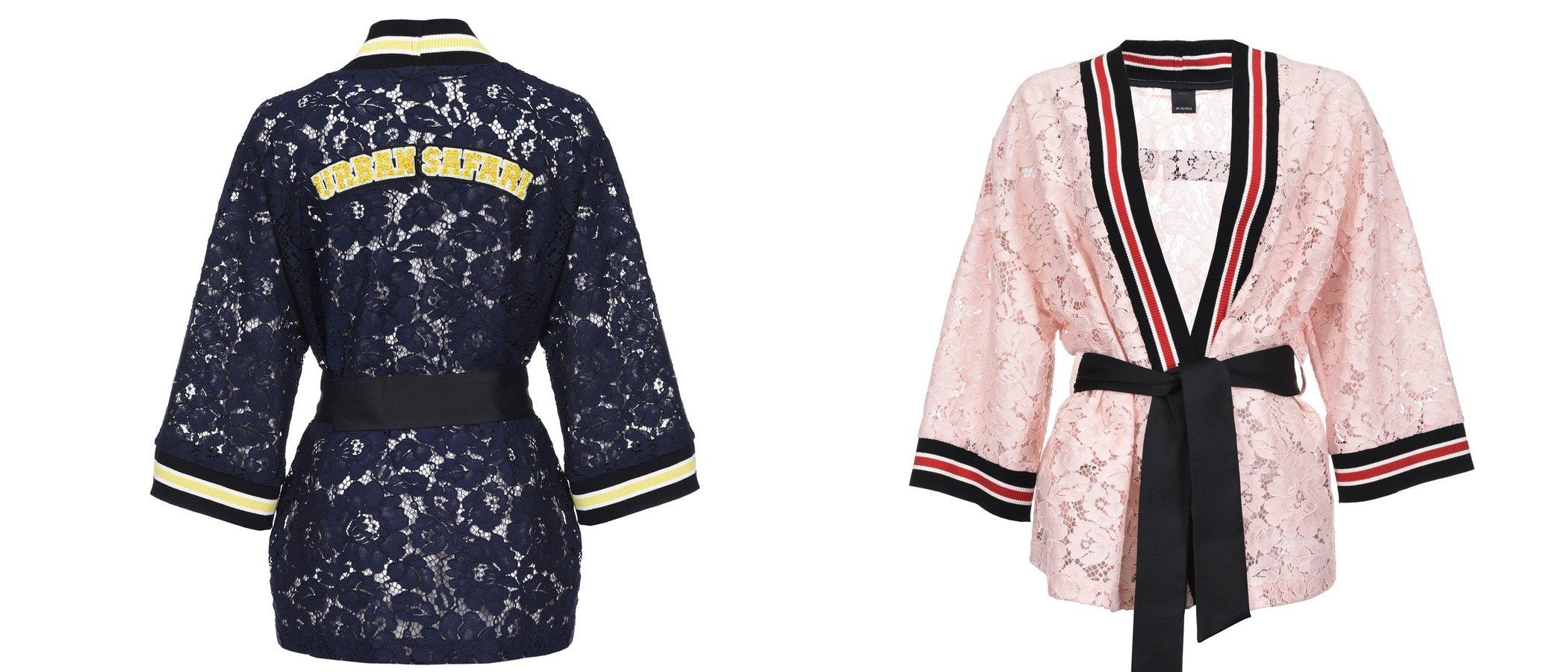 Pinko presenta su nueva colección de kimonos originales y coloridos
