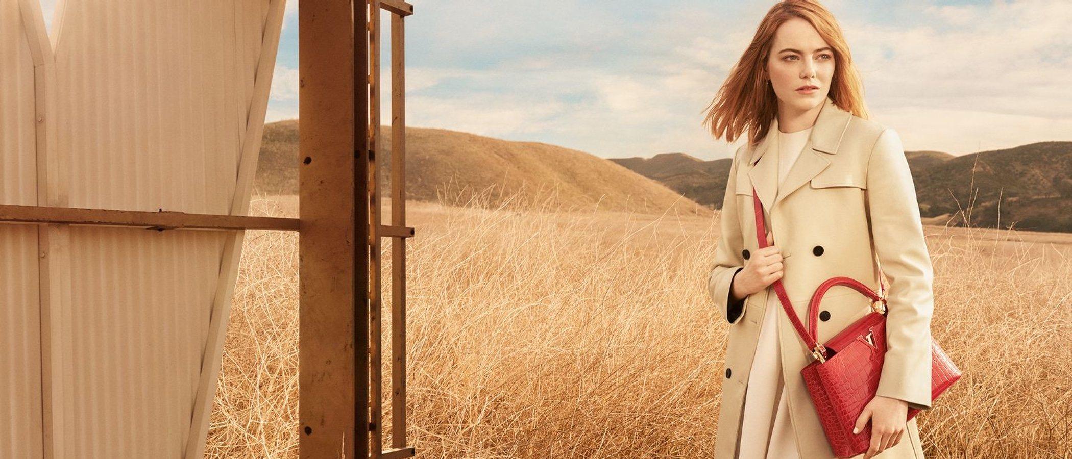 Emma Stone, protagonista de la nueva campaña de Louis Vuitton