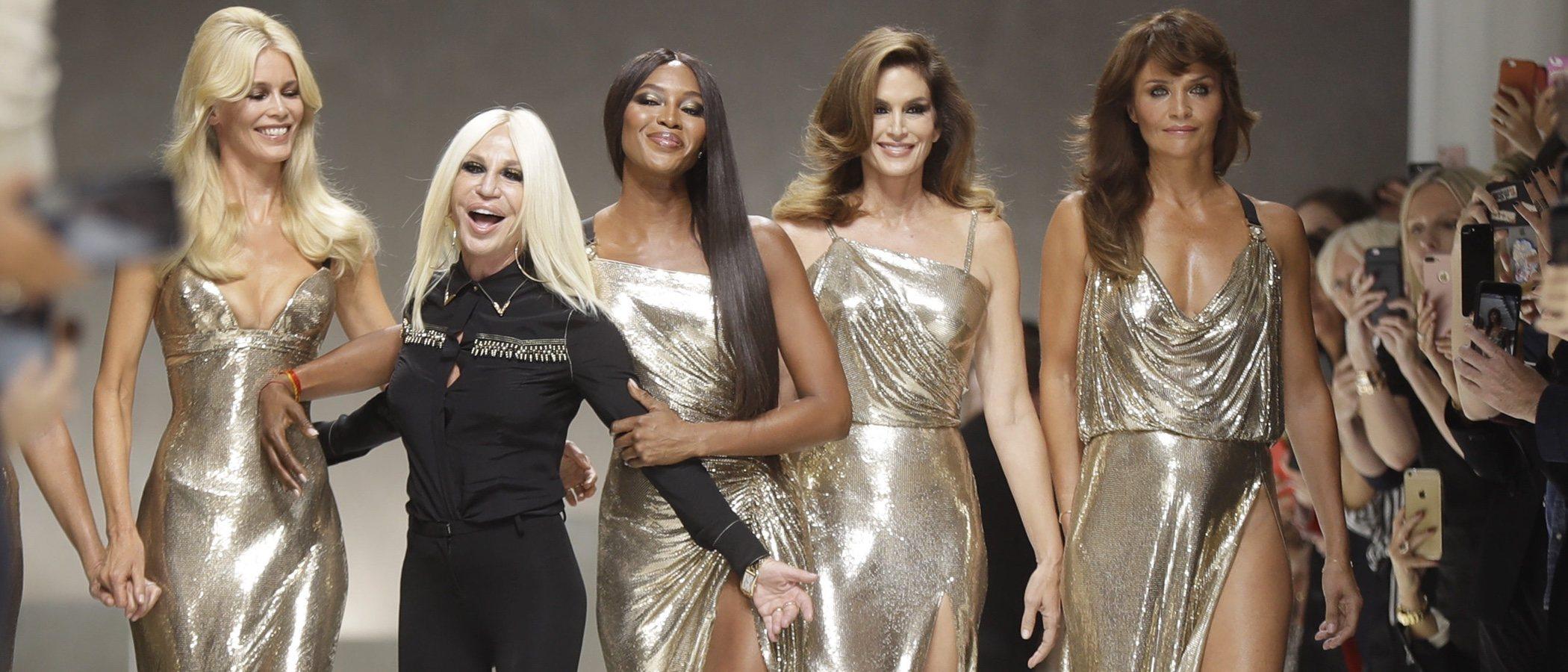 Donatella Versace renuncia al uso de pieles en sus colecciones