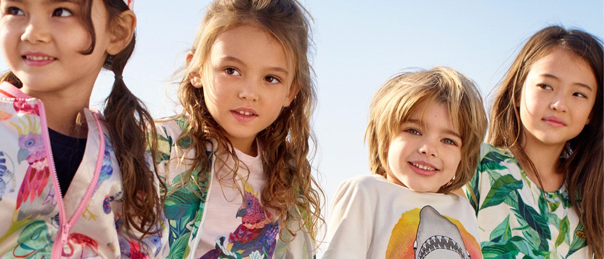 H&M presenta una colección infantil en colaboración con dos diseñadores gráficos