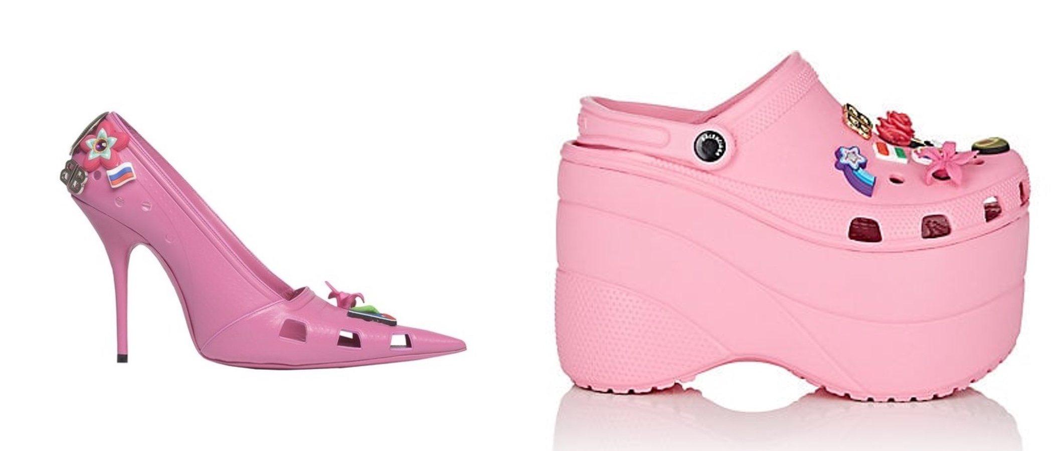 Crocs stiletto de Balenciaga, una nueva y original tendencia
