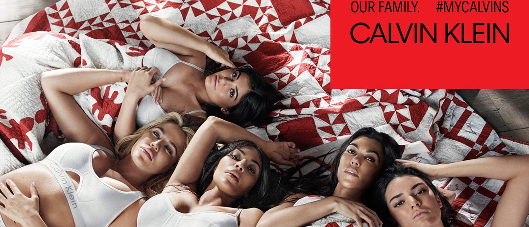 Calvin Klein presenta los nuevos básicos colección primavera/verano 2018 con el clan Kardashian
