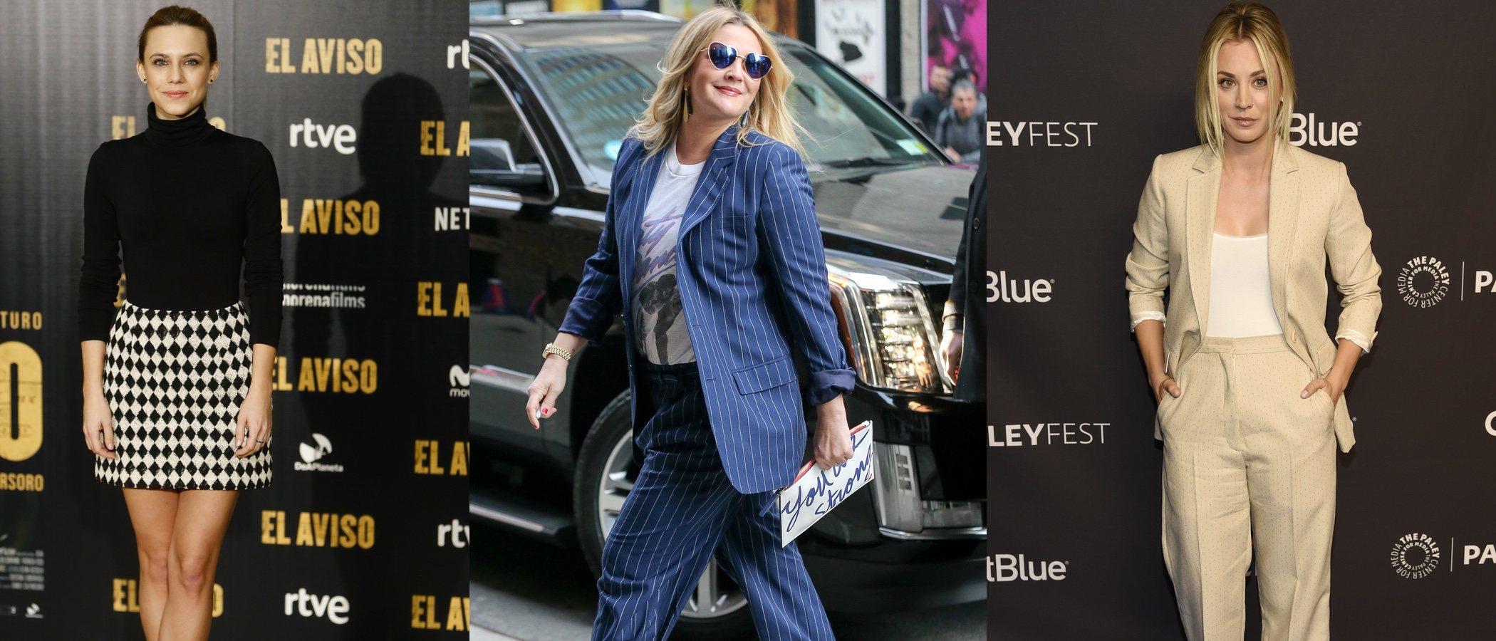 Drew Barrymore, Kaley Cuoco y Aura Garrido, entre las mejor vestidas de la semana