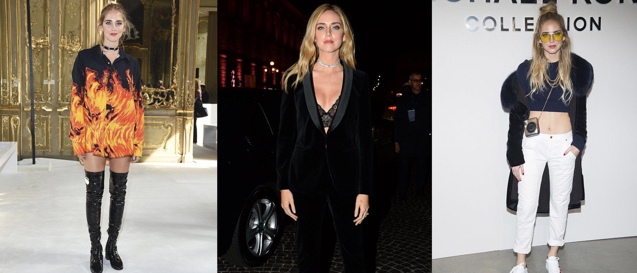 La evolución de estilismos de Chiara Ferragni, la reina italiana de la moda