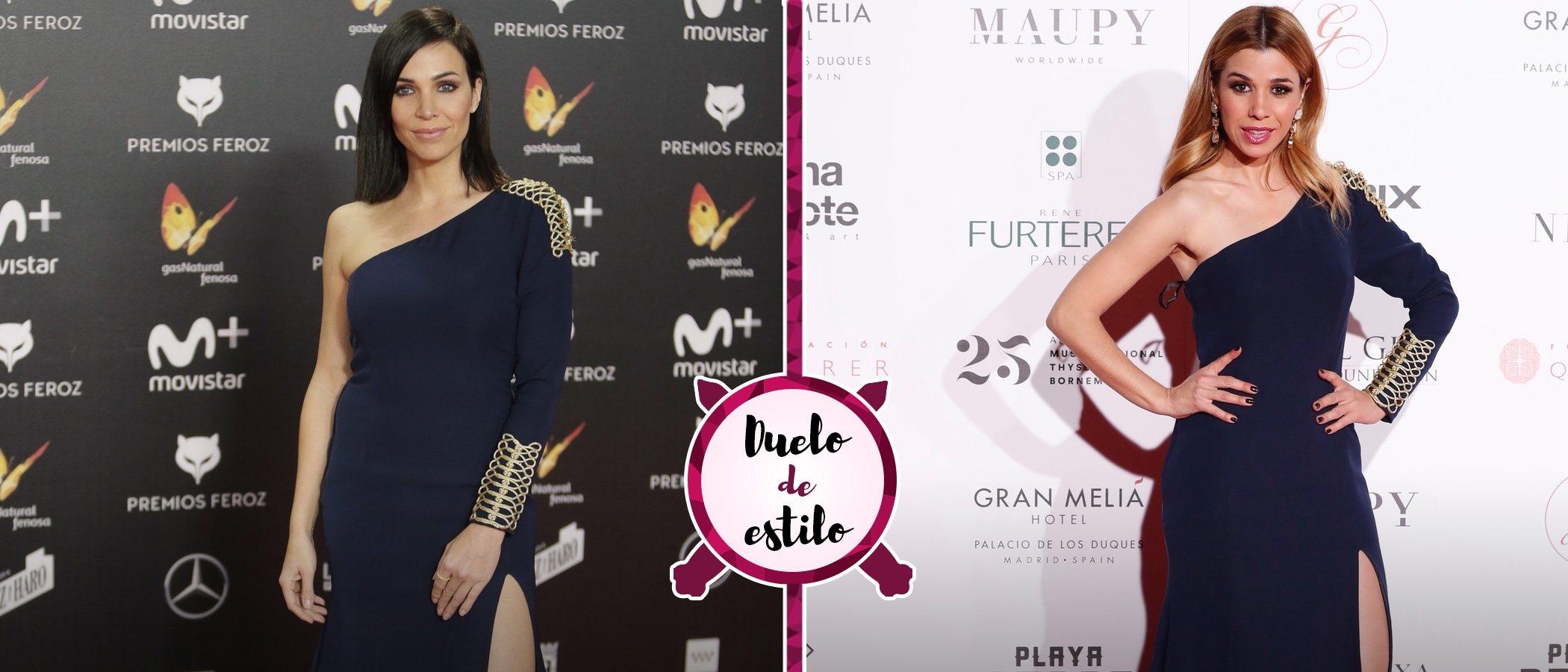 Nerea Garmendia y Natalia Rodríguez escogen el mismo vestido de Rubén Hernández Costura
