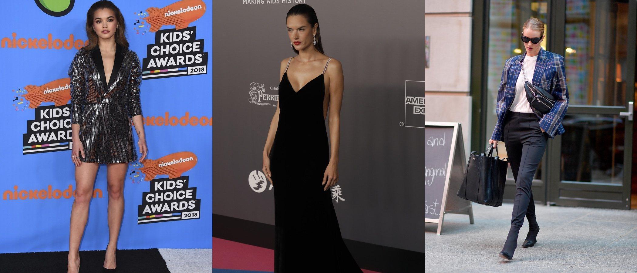 Heidi Klum, Paris Berelc y Alessandra Ambrosio entre las mejor vestidas de la semana