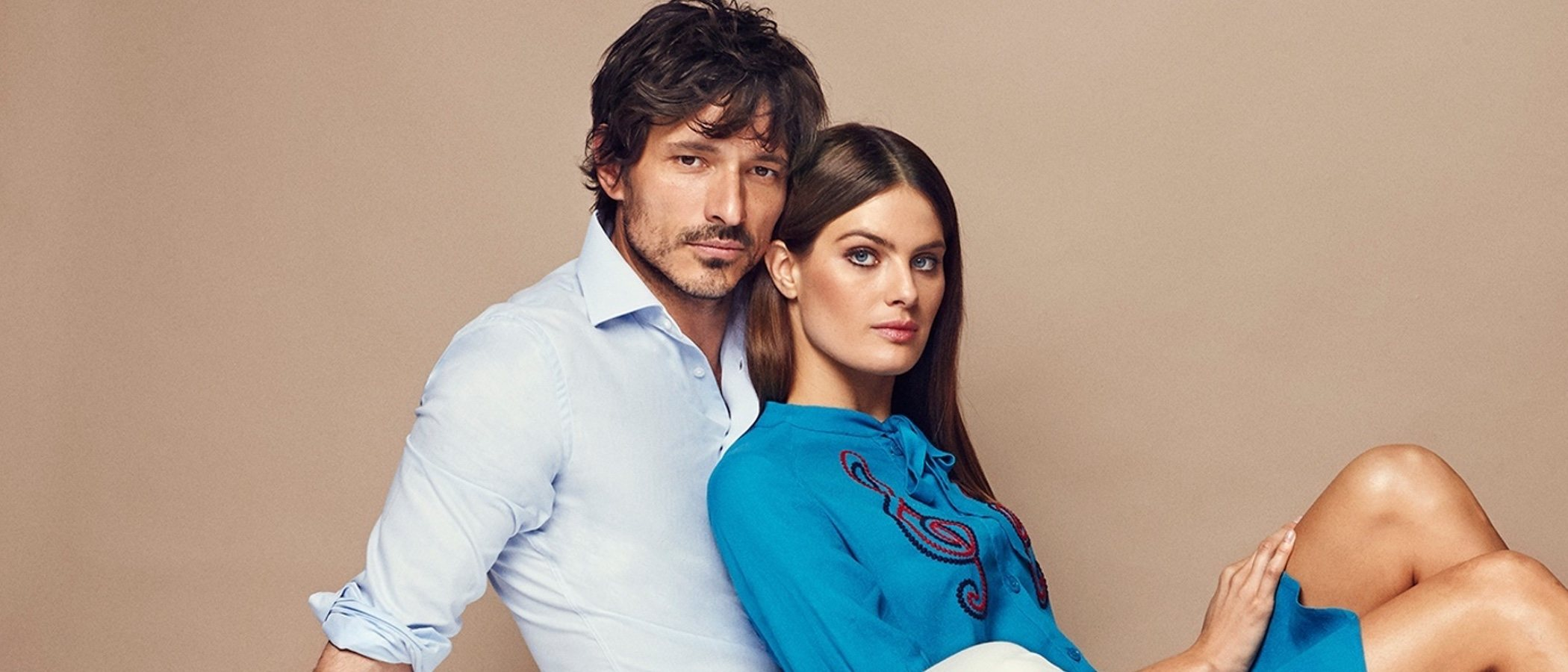 Isabeli Fontana y Andrés Velencoso, protagonistas de la nueva colección de Carmela Shoes