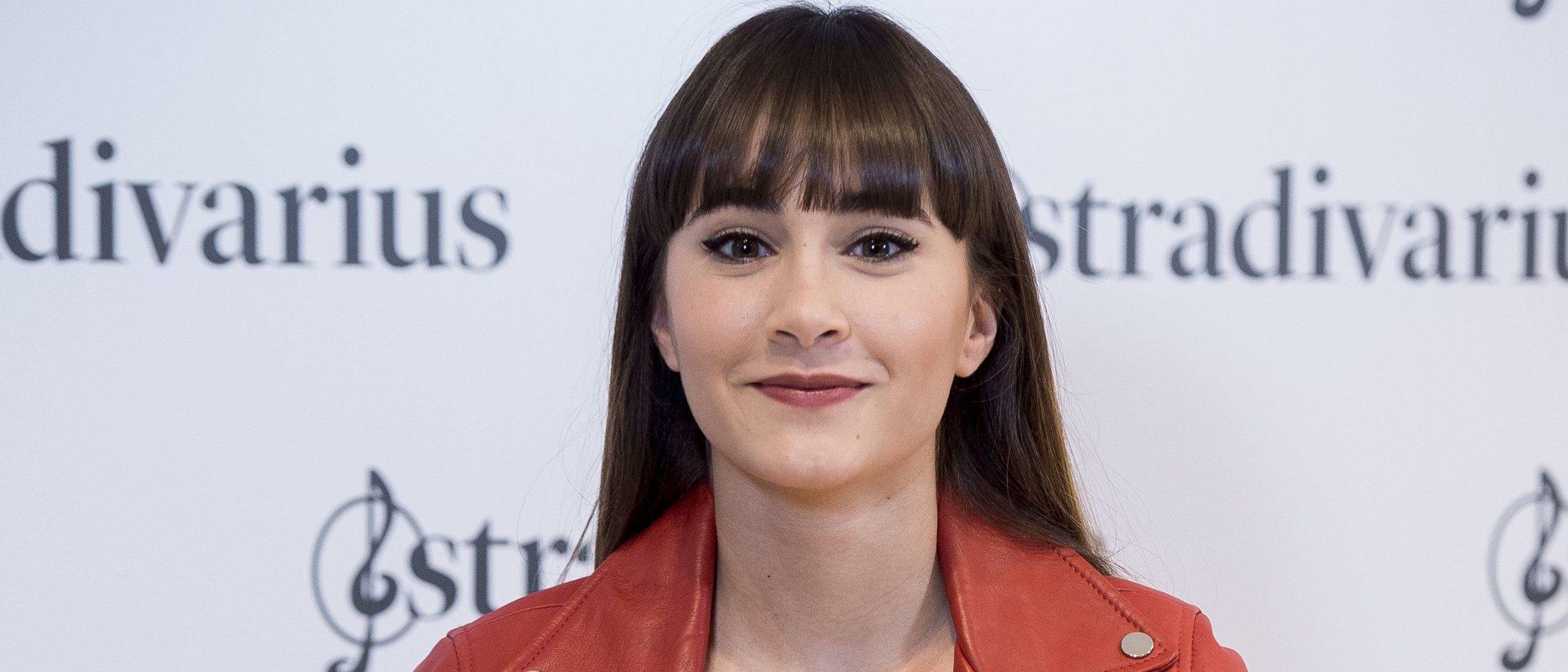 "Aitana se presenta como embajadora de Stradivarius: ""Me hace mucha ilusión"""