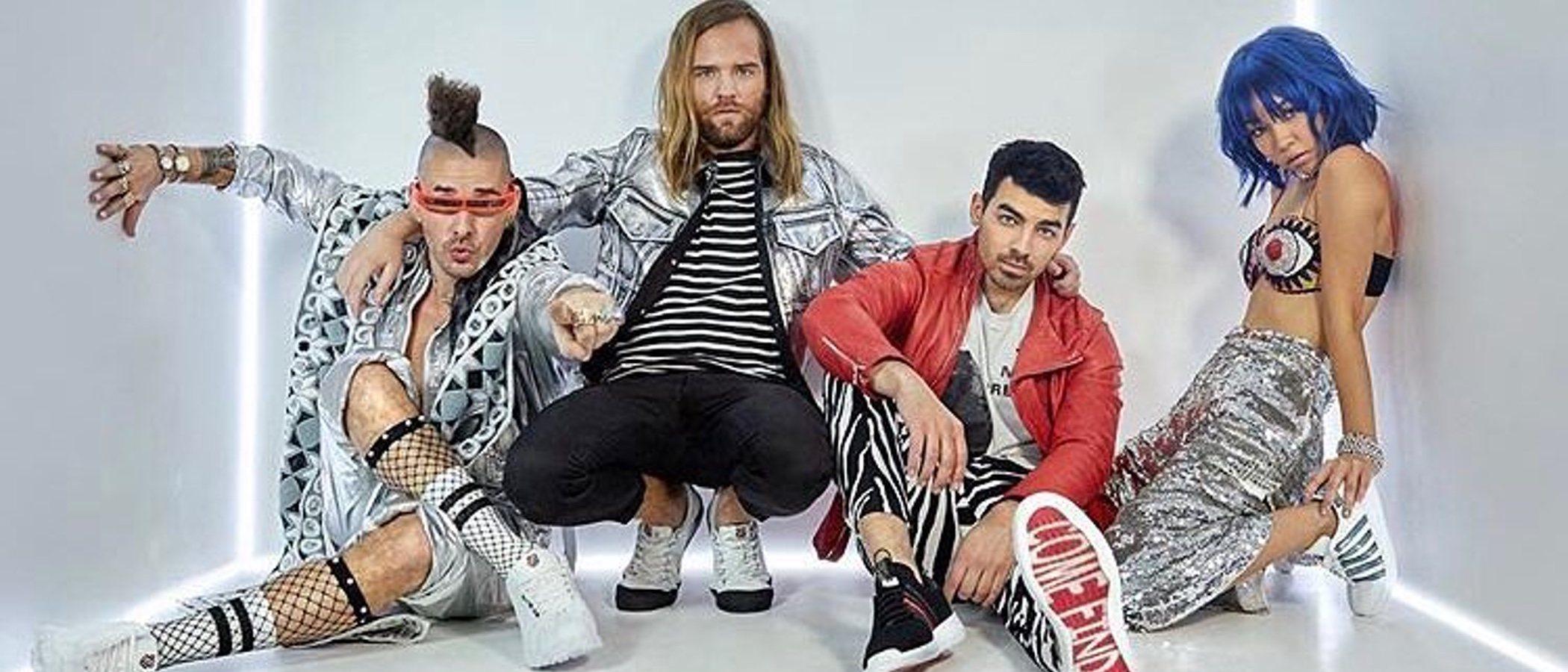 Joe Jonas y DNCE lanzan nueva colección de calzado con K-Swiss