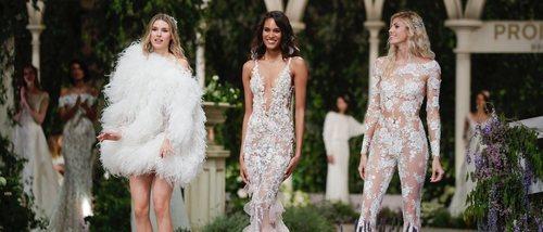 Pronovias presenta una colección de ensueño en la Barcelona Bridal Fashion Week 2018