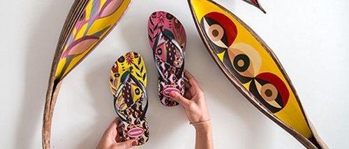 Havaianas lanza sus nuevos modelos exclusivos 'Retratos de Brasil'