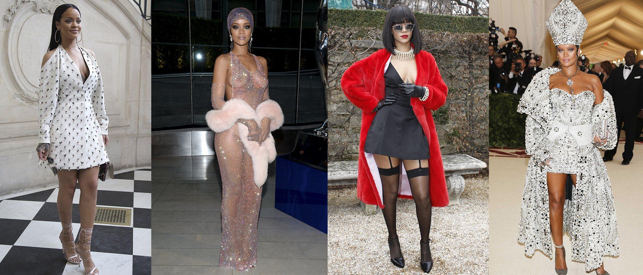 La evolución de estilismos de Rihanna, el icono de la sensualidad en la música