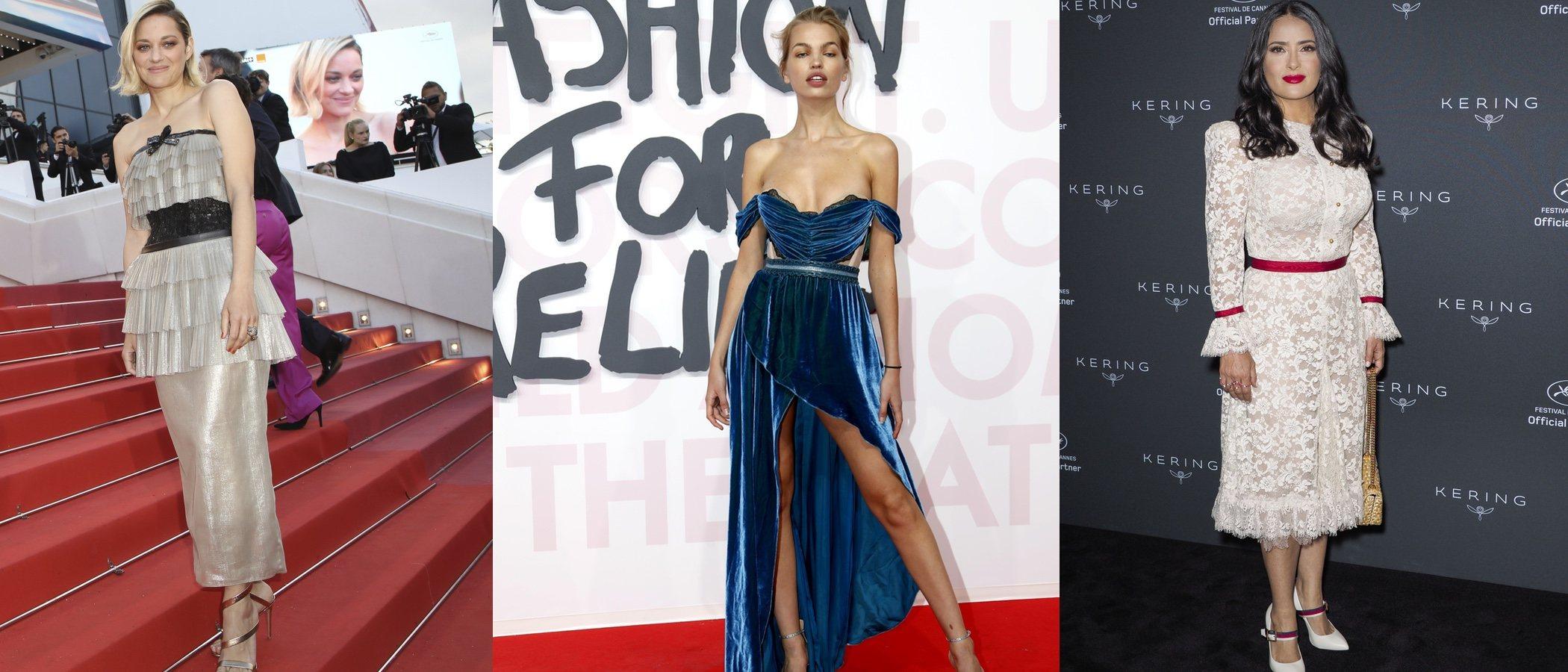 Marion Cotillard, Daphne Groeneveld y Salma Hayek entre las peor vestidas de la semana