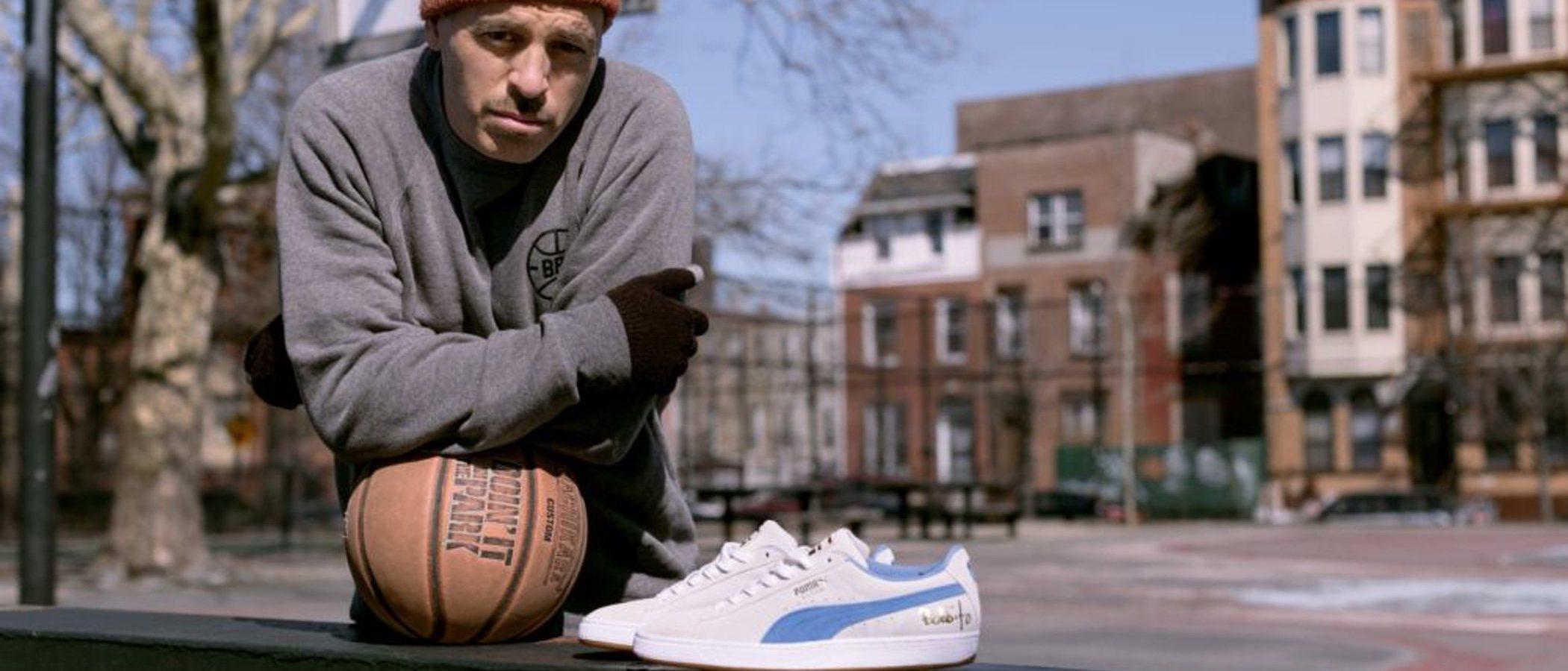 Robert 'Bobbito' García colabora con Puma en una original colección de zapatillas 'Suede'