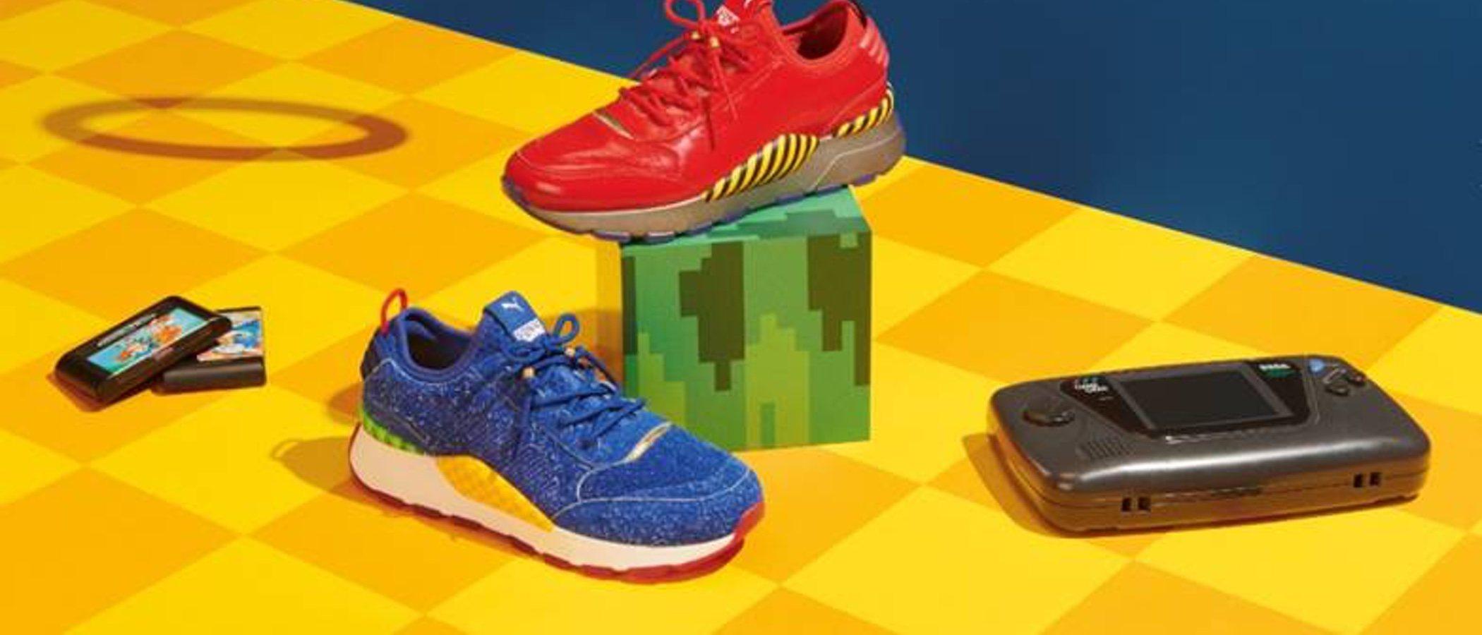 Puma y Sega anuncian las nuevas zapatillas PUMA RS-0 Sonic y Dr Eggman