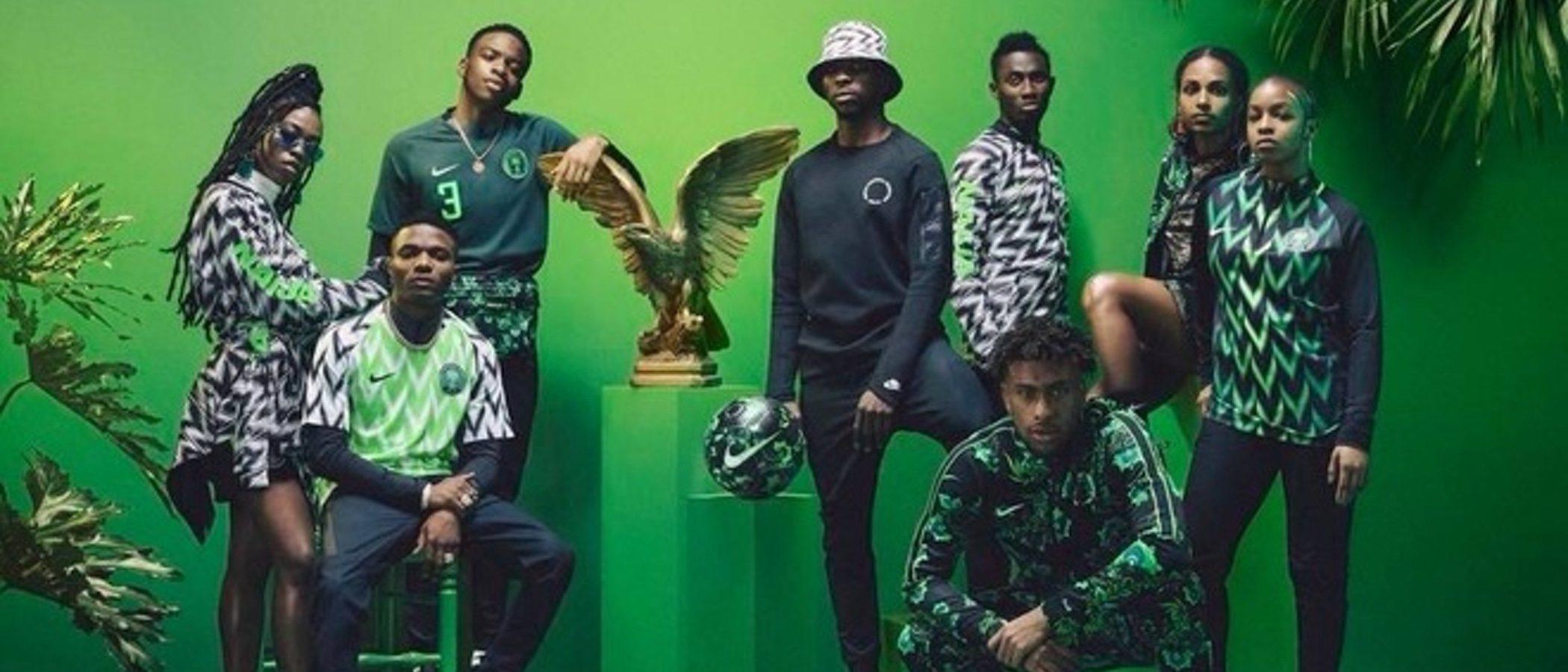 La equipación de Nigeria para el Mundial de Fútbol de Rusia 2018 se agota en tiempo récord