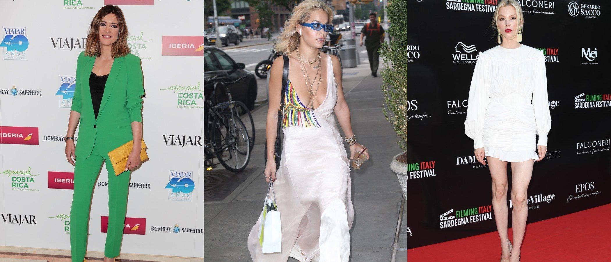 Sandra Barneda, Rita Ora y Sylvia Hoeks entre las mejor vestidas de la semana