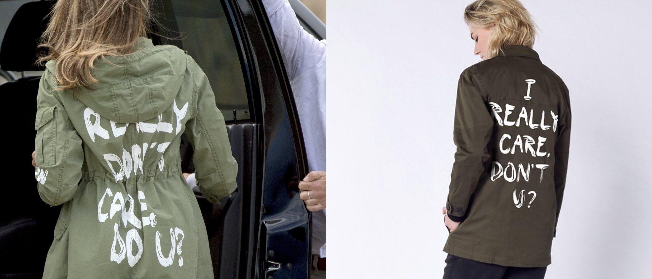Wildfang lanza una línea de ropa en respuesta a la polémica chaqueta de Melania Trump