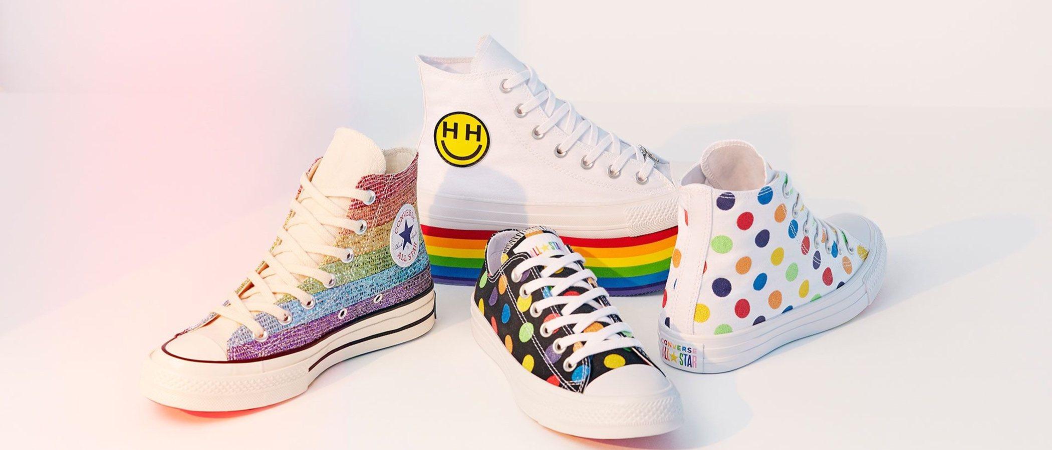 Miley Cyrus participa en el diseño de la nueva colección de Converse en homenaje al Orgullo LGTBI