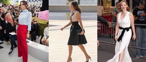 Jessica Chastain, la Reina Letizia y Victoria Beckham, entre las mejor vestidas de la semana