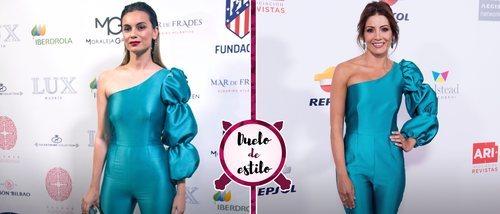 Virginia Troconis y Norma Ruiz apuestan por un look muy llamativo de Alicia Rueda. ¿Quién lo luce mejor?
