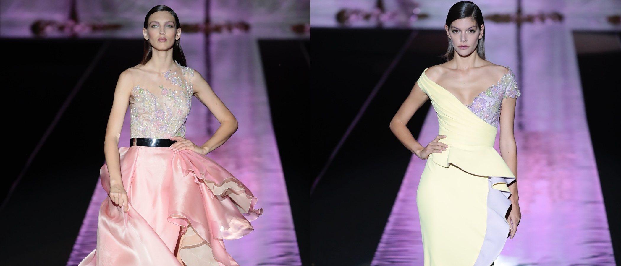 La elegancia se sube a la Madrid Fashion Week con la primavera/verano 2019 de Hannibal Laguna