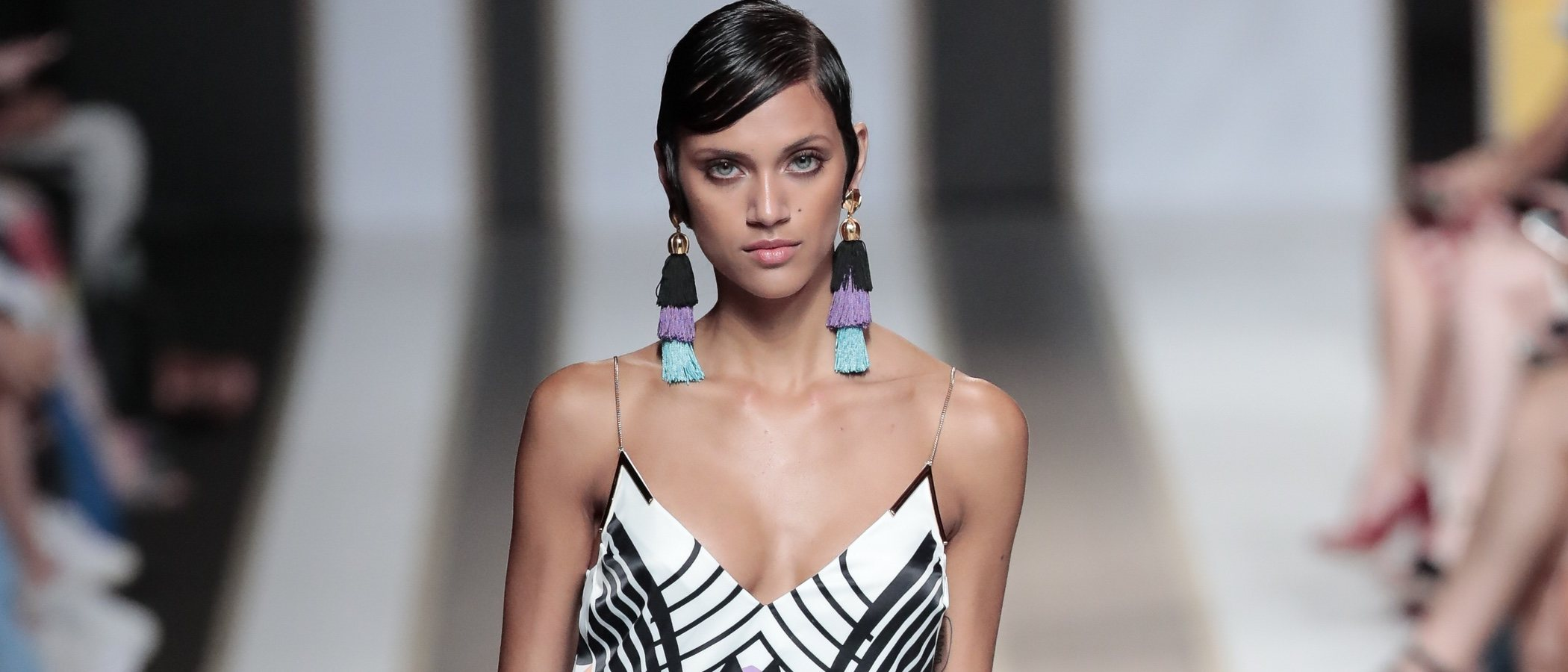 Dolores Cortés se inspira en Miami para su primavera/verano 2019 en la Madrid Fashion Week