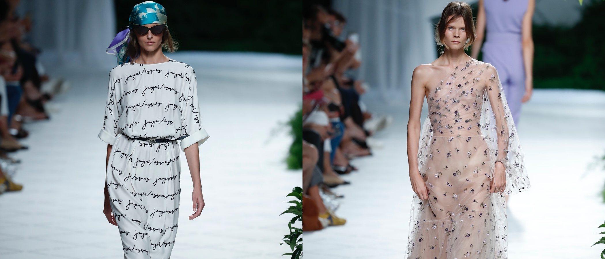 Jorge Vázquez se inspira en 'Los Ángeles de Charlie' para su primavera/verano 2019 en la Madrid Fashion Week