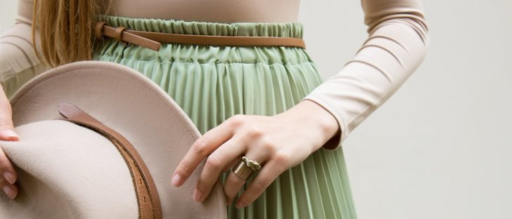 Falda plisada: Guía de estilo