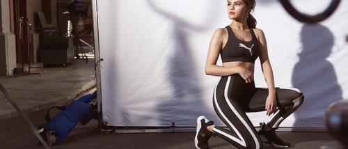 Puma y Selena Gomez se unen de nuevo en transformar la zapatilla 'Defy'