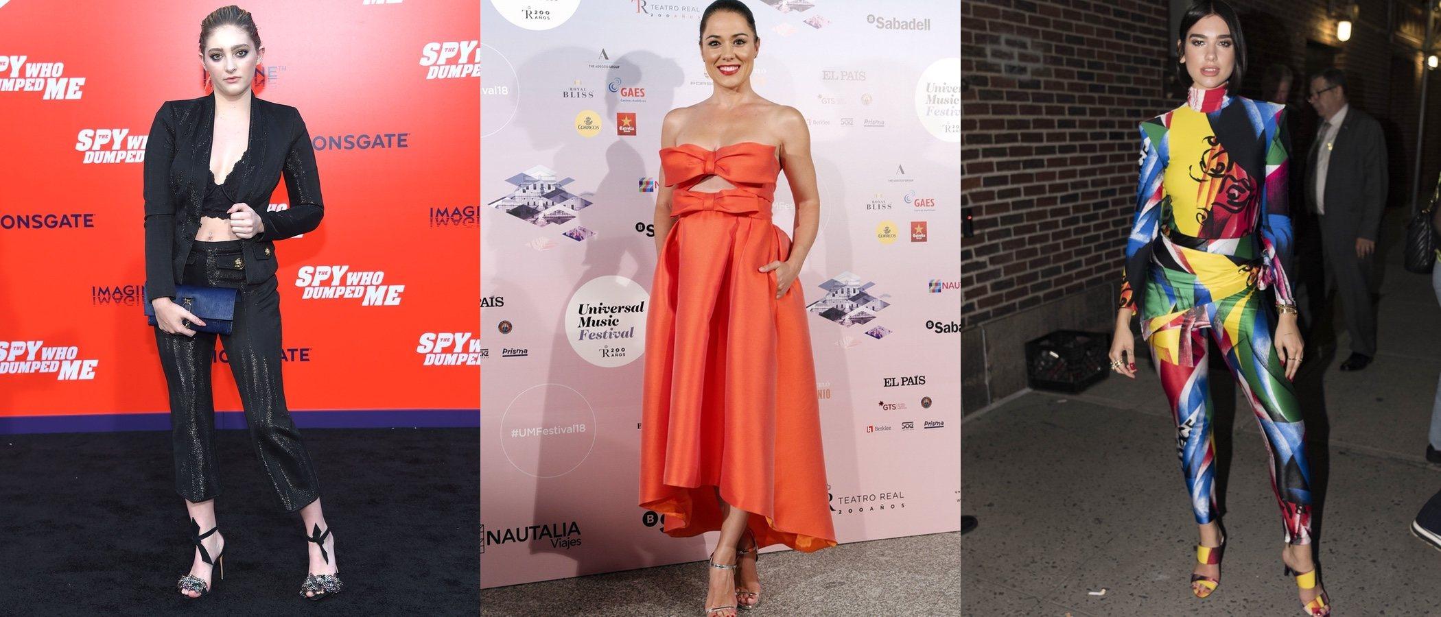 Celia Blanco, Eva Marcial y Dua Lipa entre las peor vestidas de la semana