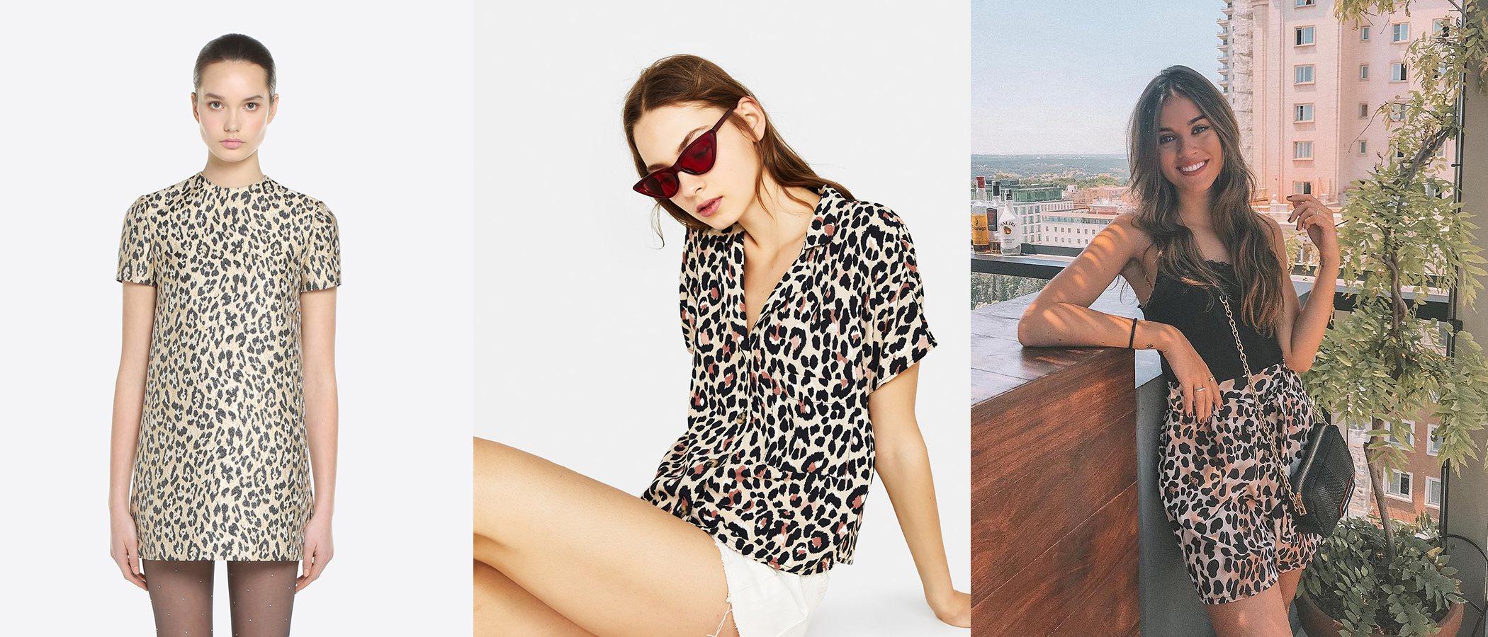 Tendencia del mes: Estampado de leopardo