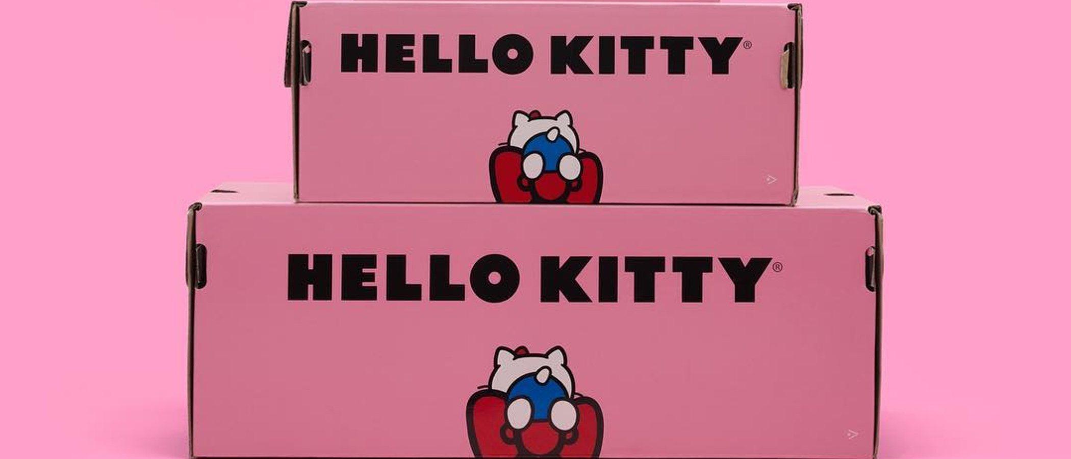 Converse se alía con Hello Kitty con diseños de su mítico modelo de zapatillas