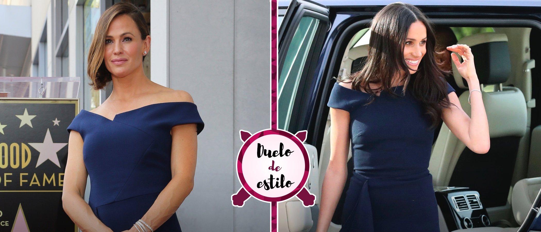 Meghan Markle y Jennifer Garner se decantan por el mismo diseño. ¿A quién le sienta mejor?