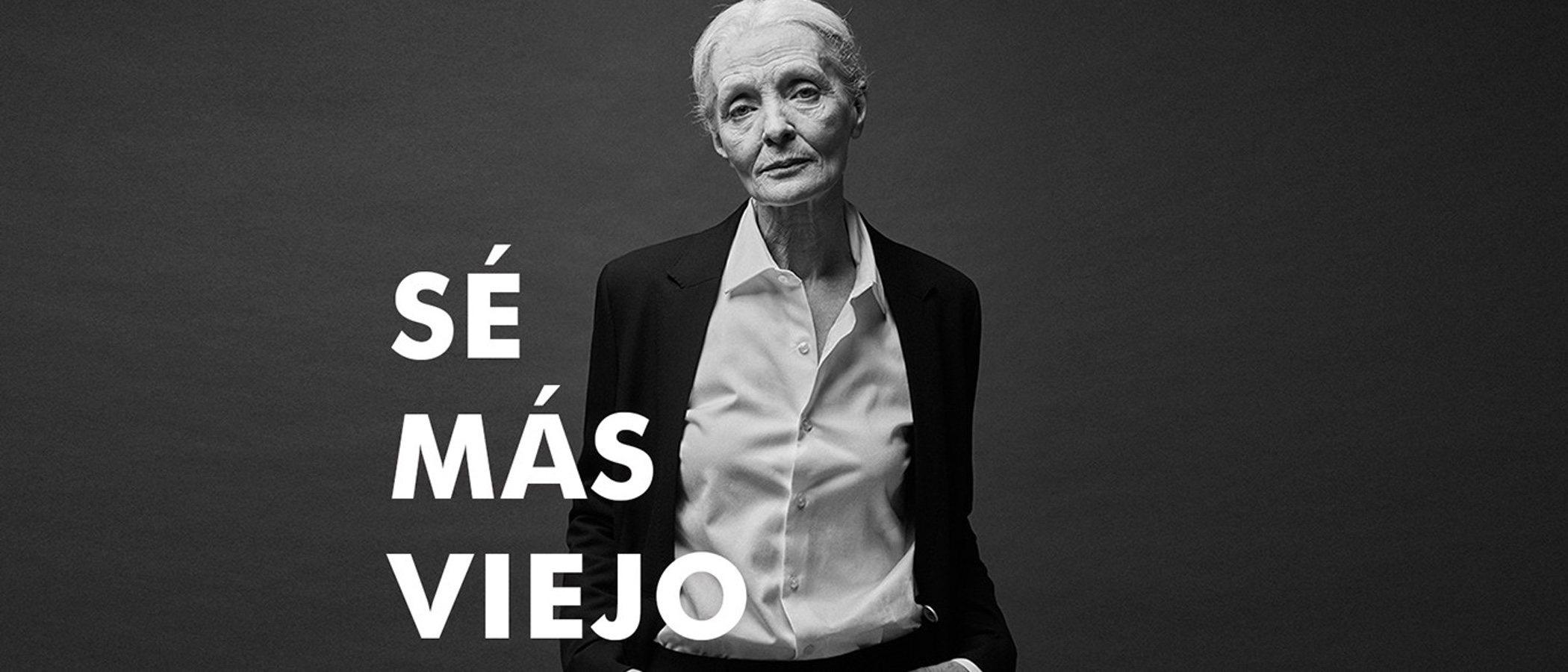 'Sé más viejo', el consejo de Adolfo Domínguez en su nueva campaña