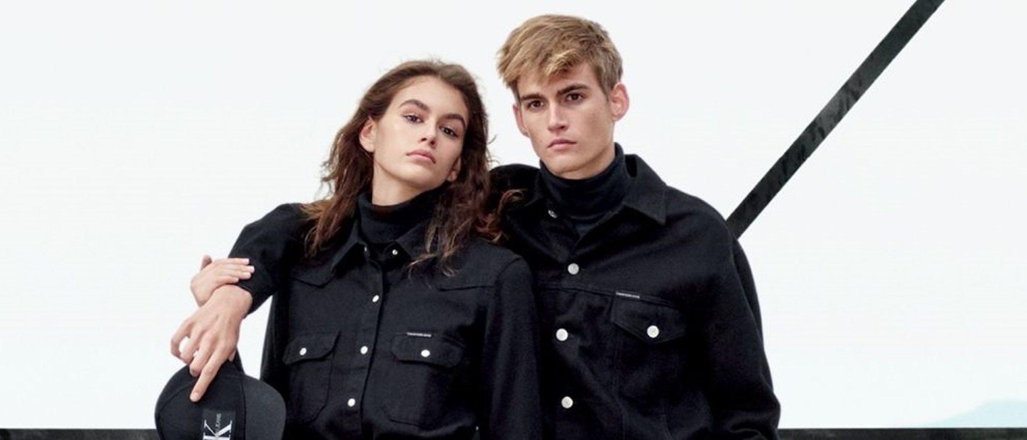 La colección Jeans otoño 2018 de Calvin Klein se inunda de rostros famosos
