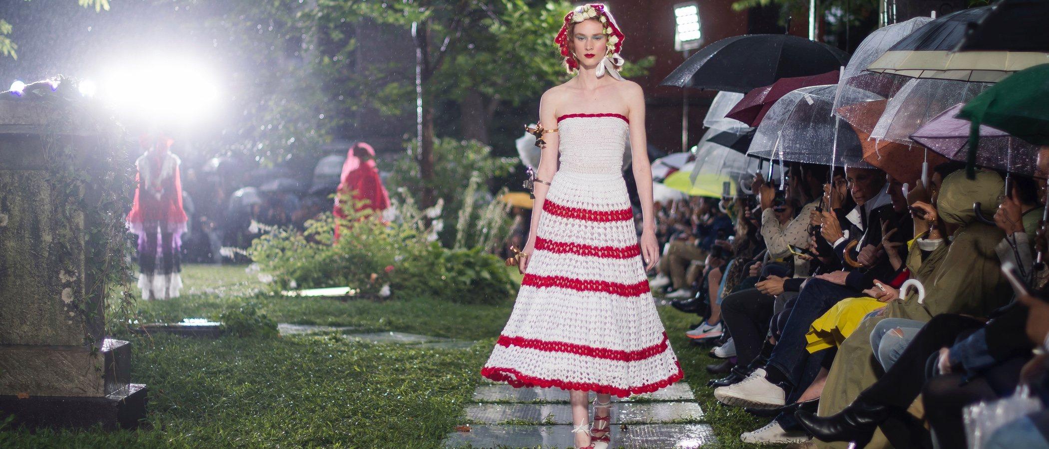 Rodarte sube a la New York Fashion Week una colección primavera/verano 2019 de ensueño