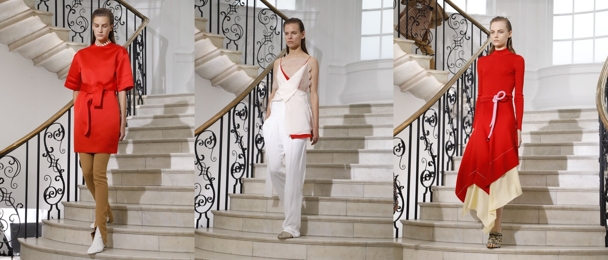 Así ha sido el desfile con el que Victoria Beckham ha celebrado en Londres sus 10 años en la moda