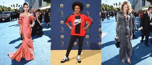 Hilaria Baldwin, Jenifer Lewis y Laura Dern, entre las peor vestidas de los Premios Emmy 2018