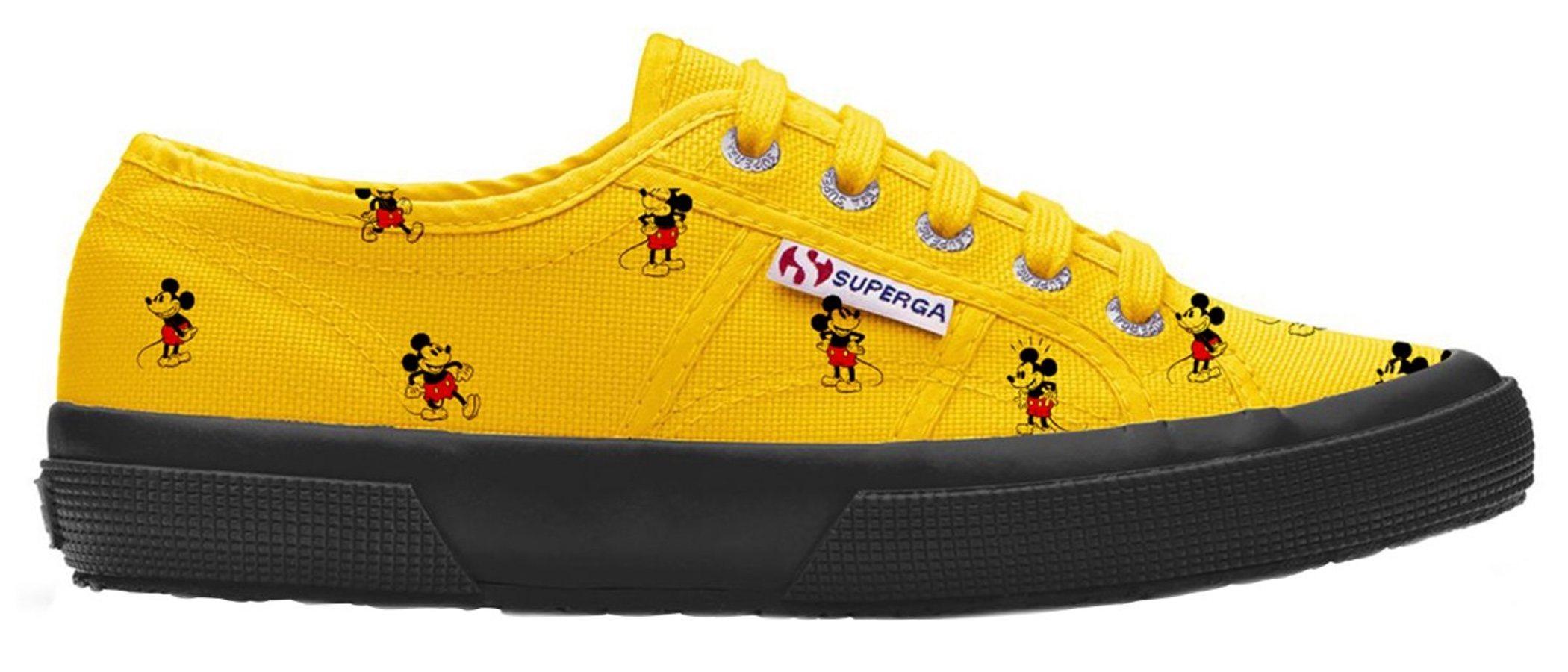 Superga homenajea a Mickey Mouse en su nueva colección
